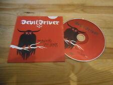 CD Metal Devil Driver - Pray For Villains (1 Song) Promo ROADRUNNER cb