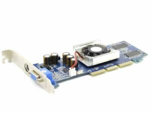 XFX PV-T18K GeForce4 MX440 AGP 8X 64MB DDR Tv-out VGA PC Video Card Graphics