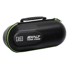 Exalt Paintball Carbon Series Tank Case - Black / Lime