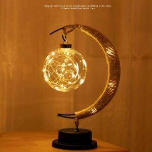 Charming Lunar Lamp LED Night Light Moon Lamp Kids Bedroom Lamp
