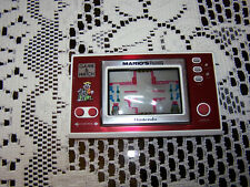 Nintendo Mario's Game & Watch Cement Factory Handheld Video Game