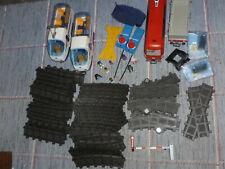 Playmobil ferrocarril gran set con locomotoras de 4016 y 4010 con bellos accesorios