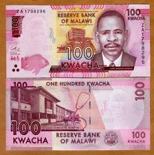 Malawi, 100 Kwacha, 2017, P-59r, UNC > ZA - REPLACEMENT
