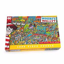 Where's Wally The Wild Wild West 1000 Piece Jigsaw Puzzle
