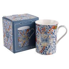 Taza Porcelana por Leonardo Colección William Morris Dorado Lirio Gama en Caja