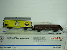 Märklin HO/AC 63-80 CARRO BIRRA SET POST birreria Weiler stata limitata (co/257-27s2/1)