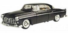 1955 Chrysler C300 Black Motormax Premium American 73302 1/24 Diecast Model Car