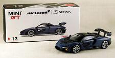 McLAREN Senna - 1:64 Mini GT (TSM) MGT00013R - Victory Grey - NEW in box