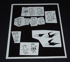 1950's Ray Patin Studios 8x10 Photo FARMER Advertising Animation Art