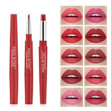 10 piece set Waterproof Pencil Lipstick Pen Matte Lip Liner Long Lasting Makeup