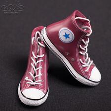 6 Weiße Segeltuchschuhe Lässige Sneakers für 12 /'/' Hottoys Phicen 1