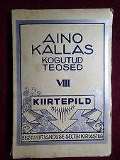 1929 AINO KALLAS KIIRTEPILDID AVANT GARDE COVER ESTONIA PICTURES FROM LONDON