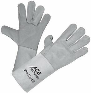 ACE ProWeld leichter Schweißerhandschuhe Arbeitshandschuhe Scapp Lederhandschuh