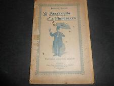 1901 FRANCESCO PISCOPO 'O PAZZARIELLO R''A PIGNASECCA NAPOLI DIALETTO MACCHIETTE