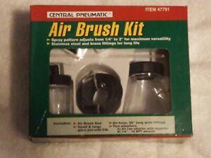 Central Pneumatic Air Brush Kit ~ Item # 47791 ~ NEW ~