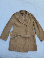 WOMENS ABERCROMBIE & FITCH DOUBLE BREASTED CORDUROY JACKET SIZE MEDIUM #W2129