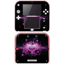 Vinyl Skin Decal Cover for Nintendo 2DS - Glowing Love Heart