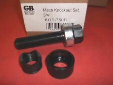 GARDNER-BENDER-3/4'' KOS-750B-NEW Electrical Slug-Out Knockout Set 3/4 Conduit