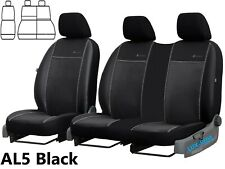 FORD TRANSIT CONNECT VAN 2014 - 2020 ECO LEATHER & ALICANTE TAILORED SEAT COVERS
