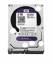 Western Digital 2TB PURPLE Surveillance Hard Drives SATA 6 Gbs 64MB WD20PURX WD