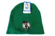 NBA Boston Celtics Winter Knit Cap Hat Beanie Cuffless Green Riders Type FREESHP