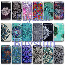 Bcov Paisley Mandala Flower Wallet Leather Case For iPhone 7/8 Plus/iPhone X