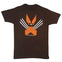 Wolverine Minimalist X-Men Marvel Comics Licensed Adult T Shirt