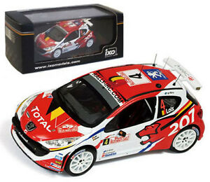 IXO RAM363 Peugeot 207 S2000 Monte Carlo Rally 2009 - F Loix 1/43 Scale