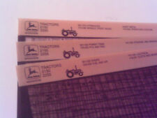 John Deere Parts Catalog 2150 2255 Tractor Microfiche Fiche