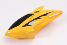 SYMA S107 S107G RC HELICOPTER SPARES PARTS YELLOW CANOPY BODY COVER