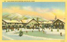 Sun Valley,Id. The Challenger Inn in Winter