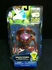 "Rare Bandai Ben 10 Alien Force 6"" (15cm) Brain Storm BrainStorm Figure NEW"