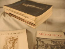 old vintage ARCHAEOLOGY Magazine priced individually lot to pick from ur choice