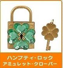 Takara Yujin Tomy Shugo Chara Dumpty Key Humpty Lock Amulet Clover