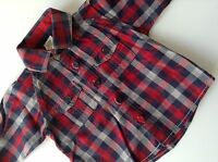 Pre-Loved 100% Genuine By Ted Baker Baby Boy Shirt With Logo. 6-9 Months