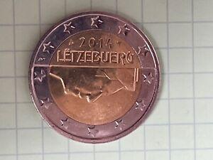 piece 2 euro RARE LETZEBUERG 2014