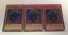 3 x YuGiOh Card - STEELSWARM MOTH - SUPER RARE - HA05-EN048