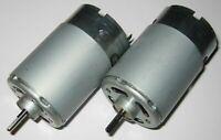 2 X Mabuchi 555 DC Motor - Wind / Water Turbine Generator - 12 V - 1 V / 500 RPM
