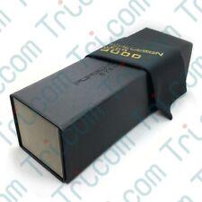 Porsche Design Eyewear Sunglass Eysglass Black Folding Case w/ Cloth & Gift Box