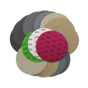 50-150mm Sandpaper Hook&Loop 60 -10000 Grit Silicon Carbide Wet or Dry Sanding