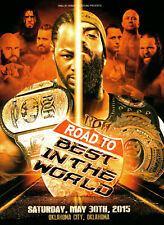 ROH RING OF HONOR Road To Best In The World 2015 Oklahoma City DVD