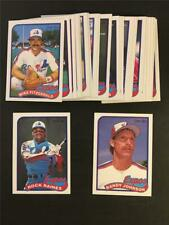 1989 OPC O-Pee-Chee Montreal Expos Team Set 27 Cards Randy Johnson RC