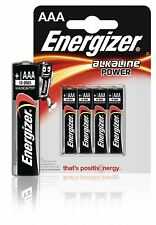 Energizer puissance AAA/LR03 alcaline 4x