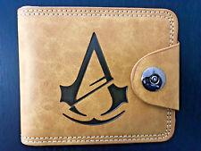 Assassins Creed Wallet Purse Handbag Men Kids EZIO Faux Leather PC PS4 Xbox *OZ*