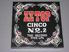 ZZ TOP Cinco 2 The Second Five LPs Albums 180g 5LP Box Set New Sealed Vinyl