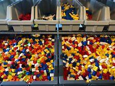 LEGO ® 500 Classic Steine - gut gemischt - mit Basic Steinen, Platten, flache St