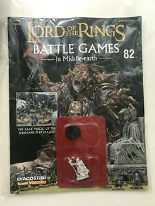 SEALED WARHAMMER LORD OF THE RINGS BATTLE GAMES #82 MORDOR ORC SHAMAN WORKSHOP