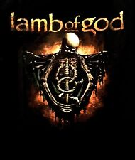 LAMB OF GOD cd lgo WRATH SKELETON TORSO Official SHIRT XL new