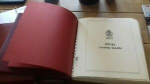 Jersey Channel Islands 1969-1994 Stamp Album Falzlos Album