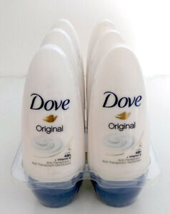 6 DOVE Original Roll-on - Buy2-save 10%, Buy3-save 15%, Buy4 or more-save 20%